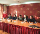 Пресс-конференция артистов Государственного театра им. Евг.Вахтангова 29 октября 2016 года