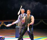 жонглеры Гордон Лиф и Пэт Фабио (Германия)
